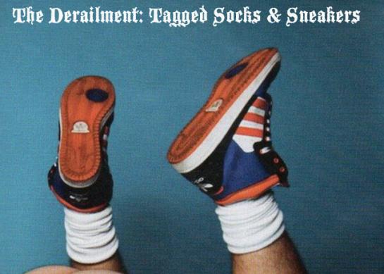 The Derailment: Tagged Socks & Sneakers, Gay Men in Socks, Gay Sock Worship