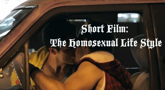 Short Film: The Homosexual Life Style, Gay Movie